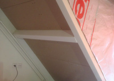 Nieuwe dakkapel in aanbouw